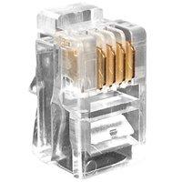 Telephone Plug 4P4C RJ9 Connector