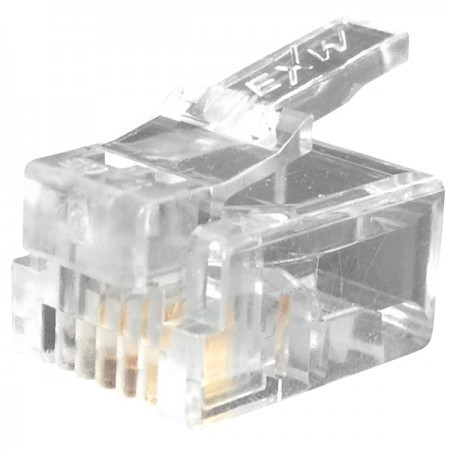 Telephone Plug 6P4C RJ11 Connector