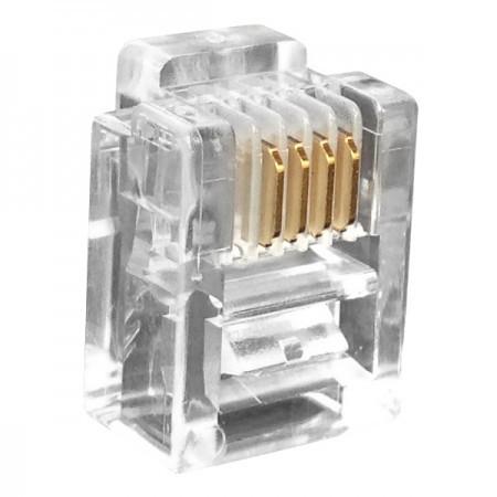 Telephone Plug 6P6C RJ12 Connector