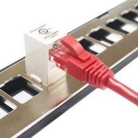 Cat5e UTP 90 Degree Inline Coupler