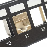 Cat5e FTP 180 Degree Inline Coupler