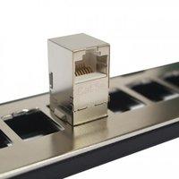 Cat5e FTP 90 Degree Inline Coupler