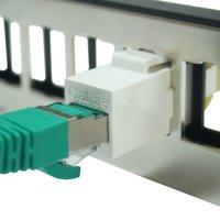 Cat5e UTP 180 Degree Inline Coupler