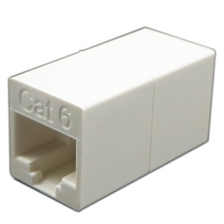 Cat6 UTP 180 Degree RJ45 Coupler