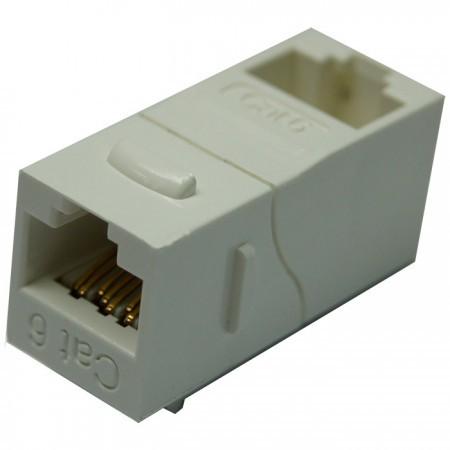 Cat6 UTP 90 Degree Inline Coupler