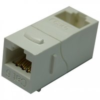 Cat6 UTP 90 Degree Inline Coupler