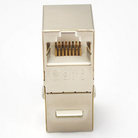 Cat6 FTP 90 Degree Inline Coupler