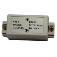 Inline Punch Down Coupler Cat6 Unshielded Junction Box