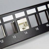 Cat6A FTP 180 Degree Inline Coupler