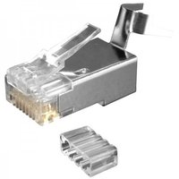 Cat6A Larger Diameter RJ45 Modular Plugs