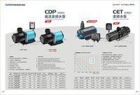 DC frequency variation pump