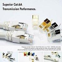 Cat6A STP RJ45 Shielded Modular Plug
