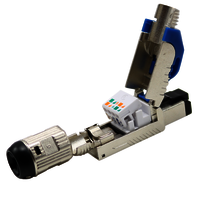 Cat6A FTP Field Termination Plug