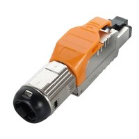 Cat6A Full Shielded Toolless Plug