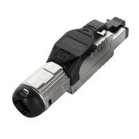 Cat6A FTP Toolless Plug