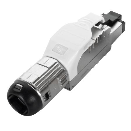 Cat6A FTP Tool Free Plug