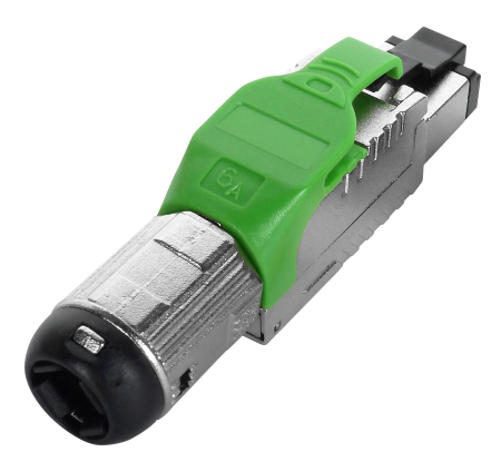 Cat6A Component Level Toolless Plug