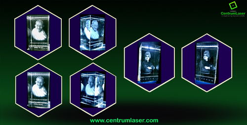 3D Crystal Engraving Mementos