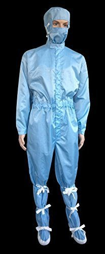 S Protection Anti Static Coverall With Sole Booties