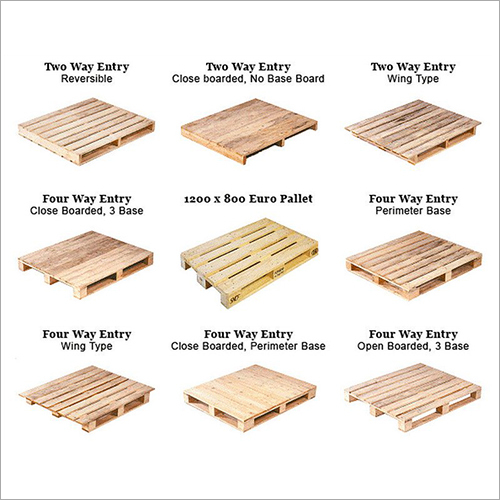 Wooden Pallets Types