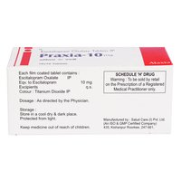Praxia-10 Mg Tablet