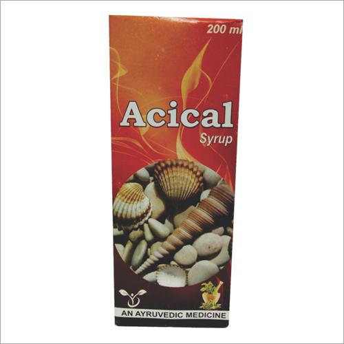 Ayurvedic Acical Syrup
