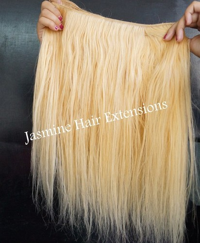 Straight Blonde Hair Extension