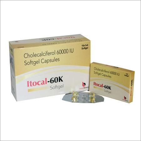 Cholecalciferol 60000 IU Capsule