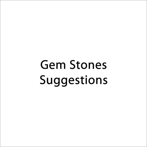 Gemstone Suggestion
