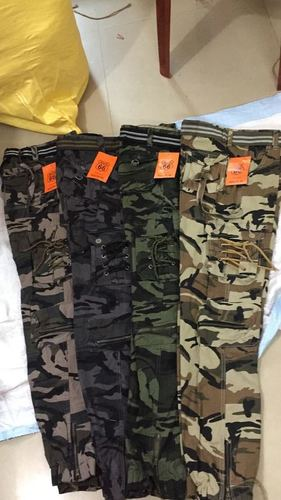 Military Cargo Trousers