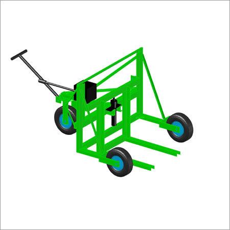Green Bricks Hydraulic Trolley