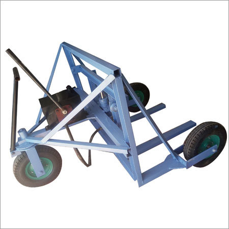 Hydraulic Bricks Shifting Trolley