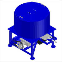 Hydraulic Concrete Pan Mixer