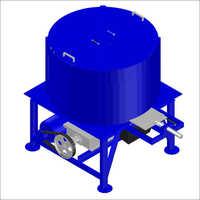 Hydraulic Concrete Pan Mixer