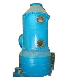 FRP Scrubber With Exhaust Systems
