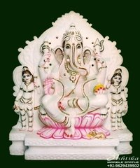 Marble Holy Ganesh Statue