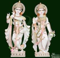Marble Radha Krishna Murti Supplier