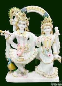 Marble Radha krishna Statue Price