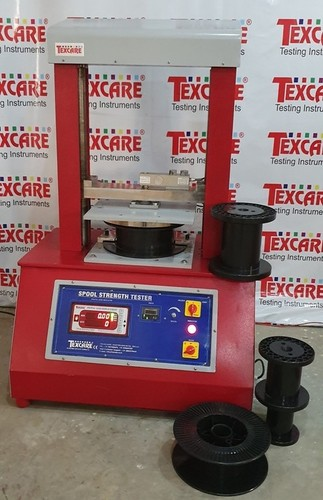 Spool & Welding Electrode strength testing machine