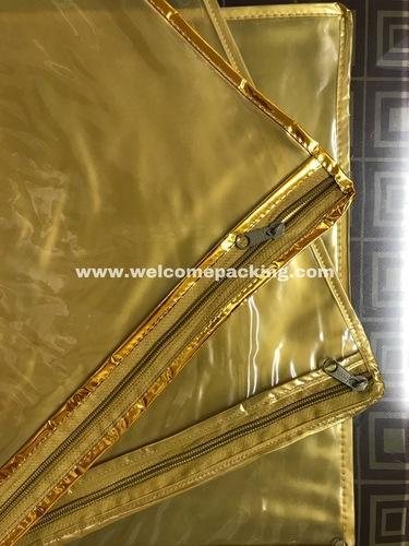 Saree Packaging Zipper Bag