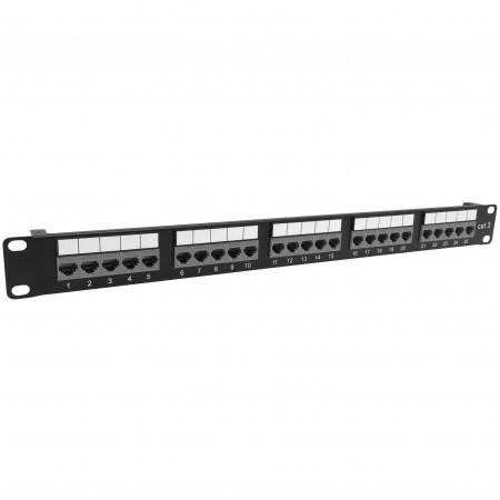 Cat3 25 Port Voice Panel Toolless Type