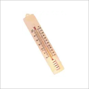 Plastic and Glass Thermometer Wall