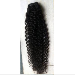 Steamed Curly Virgin Weft Hair