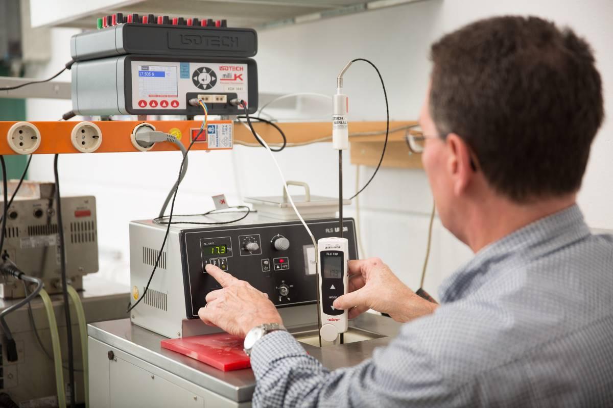 Temperature Measurement Instruments Calibration Services