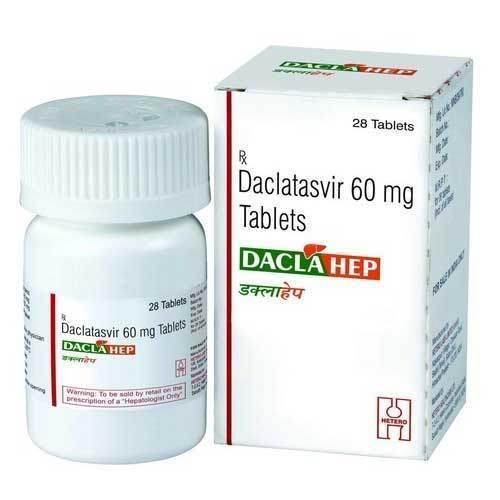 Daclahep ( Daclatasvir ) 60mg Tablets