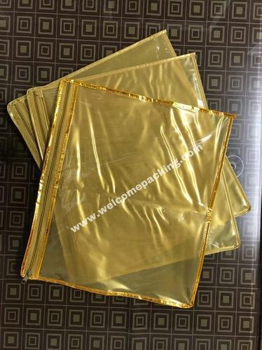 PVC Saree Packing Bags