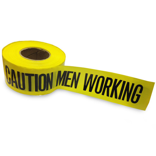 LD Non-Virgin Caution Tapes are high-quality, high strength printed polyethylene barricade tape