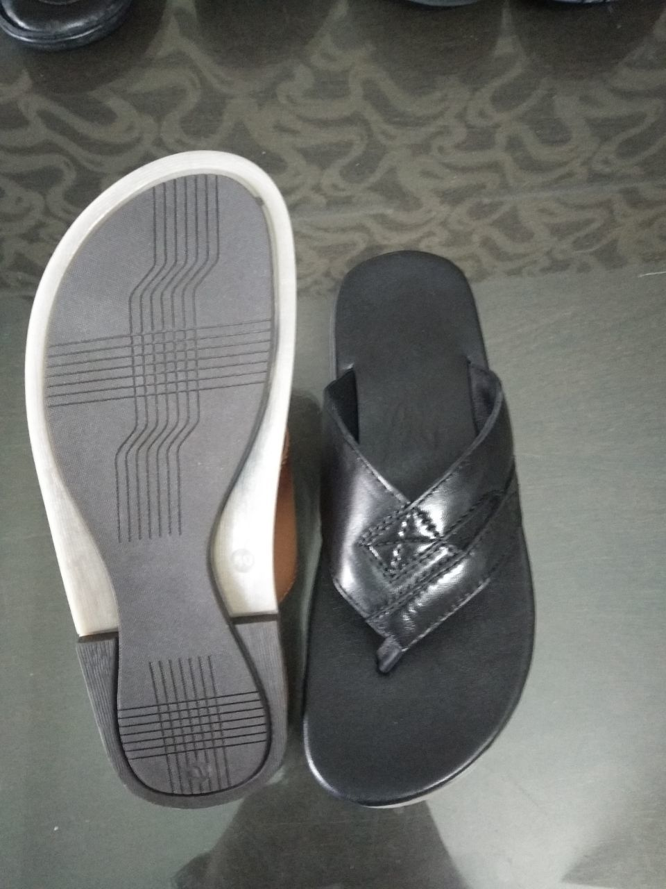 Men Leather Slippers