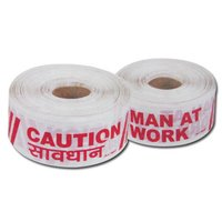 LD Virgin Caution Tapes are high-quality, high strength printed polyethylene barricade tape