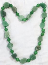 Green Aventurine Raw Gemstone Nacklace
